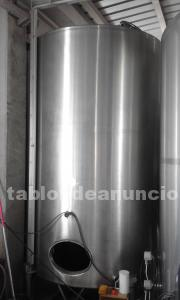 DEPOSITO INOX 5.000 litros