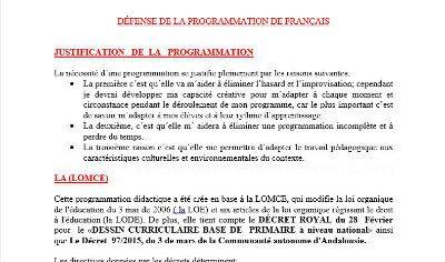Temario completo oposiciones maestros francés