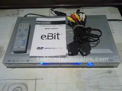 Reproductor dvd con usb impecable