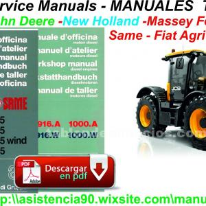 MANUALES TALLER TRACTORES