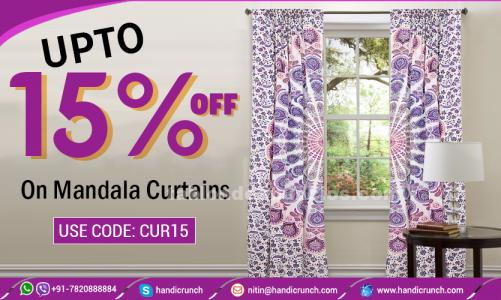 Astonishing curtains from handicrunch