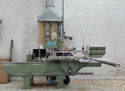 Maquinaría carpintería: espigadora eloba