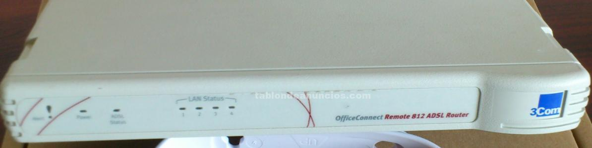Router adsl marca 3com office connect modelo remote 812