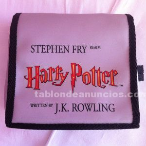 Audio inglés cassette book harry potter.