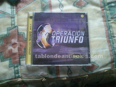 Cd operación triunfo 3