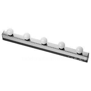 Aplique / lámpara pared ikea mod. Musik 5 bombillas (falta soporte pared)