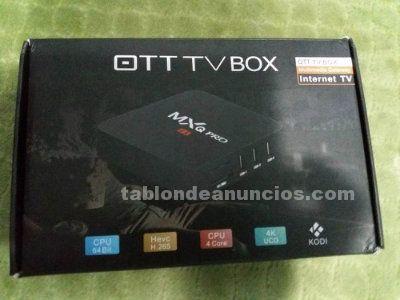 VENDO ANDROID BOX MXQ PRO 4K
