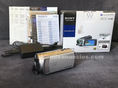 Cámara vídeo y fotos sony full-hd 1080