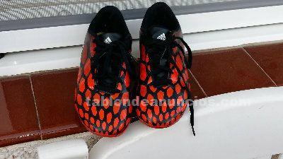 Botas de fútbol junior: adidas predito, talla 38