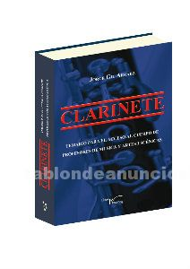 Venta temario clarinete 2017