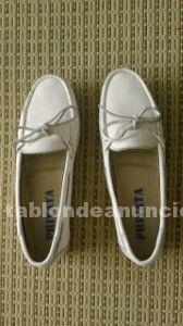 Zapato blanco marca privata- nº37