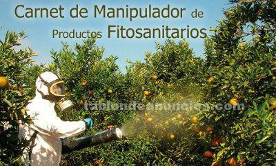 Curso ´de operador fitosanitarios