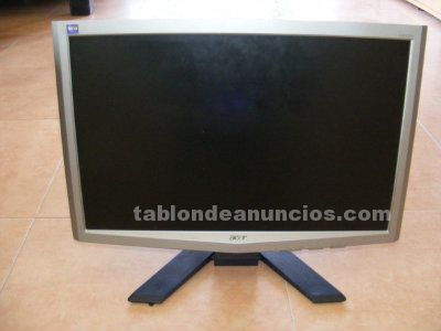 "Acer x203w 20"" widescreen lcd monitor."