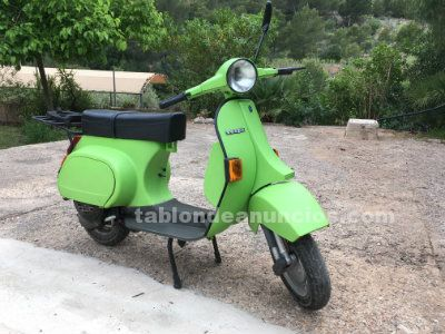 Vendo vespa 125 manual, verde pistacho mate