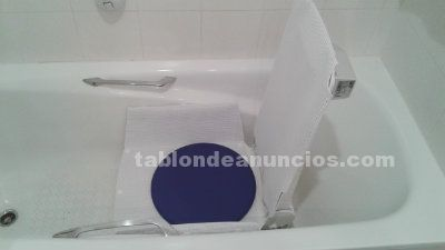 Silla adaptable a bañera ortopedia