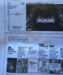 2 abonos download festival madrid