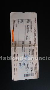 Vendo billete de tren a madrid