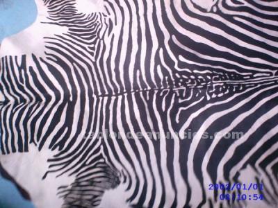Tabl n de anuncios alfombras de cebra de piel autentica - Alfombras de cebra sintetica ...