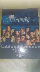 Libro operación triunfo 2