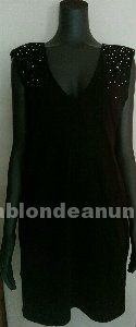 Vestido negro de brillantes