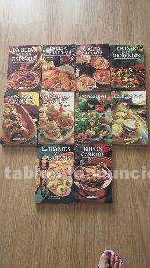 Coleccion libros de cocina nuevos