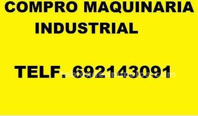 Compramos talleres maquinaria metal