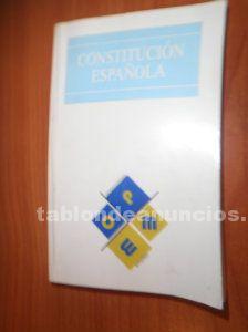 Libro constitución española por 5 euros
