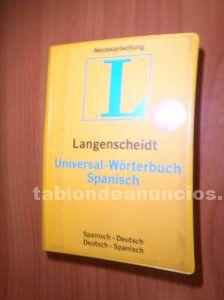 Diccionario español alemán y viceversa por 5 euros
