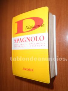 Dizionario italiano español en italiano por 5 euros