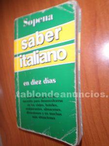 Libro Saber italiano por 5 euros
