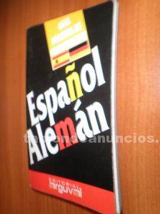 Diccionario español alemán sólo en alemán por 5 euros
