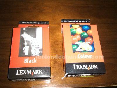 Cartuchos - tonner lexmark 16 y 26