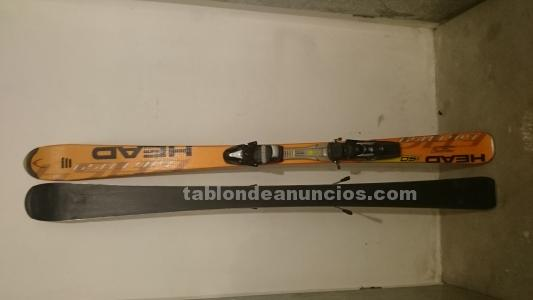 Vendo esquís marca head