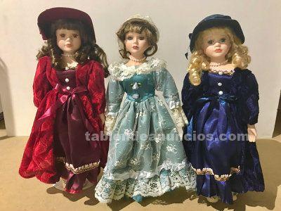 Muñecas de porcelana - pack colección