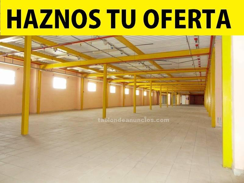 Nave industrial en polígono el mayorazgo, procedente de banco, con financiación preferente!!!