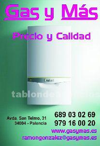 Calderas de condensación, venta e instalación