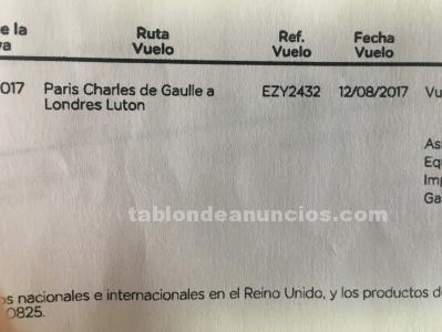Billetes de avion
