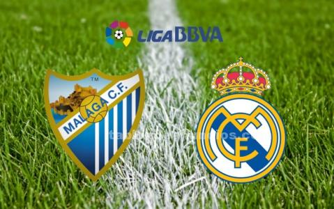 Partido málaga cf vs real madrid