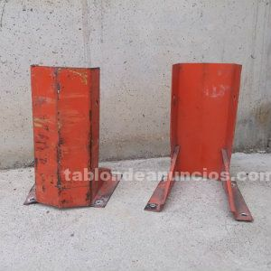 Protector estanterías carga