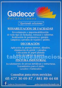 Gadecor decoraciones