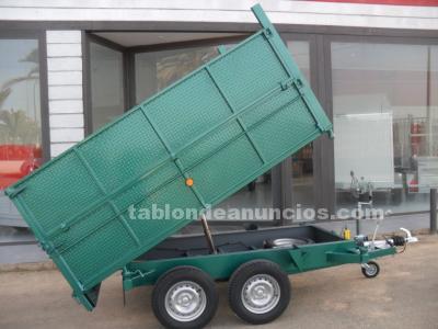 Volquete con ejes de 1350 kilos reforzado
