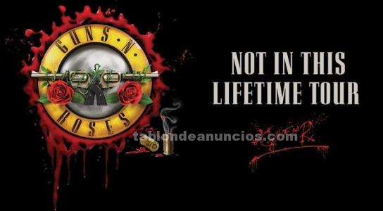 2 entradas guns and roses golden ticket madrid