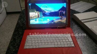Tablet y funda con teclado