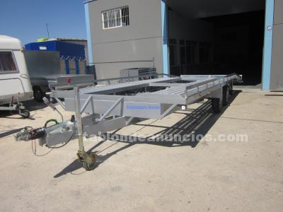 Plataforma portavehiculos rueda bajo plataforma
