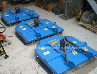 Desbrozadoras y trituradoras makinor