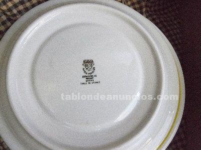 Juego de 6 tazas y 6 platos, de Barcelona-92