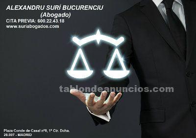 Abogado rumano / avocat român madrid