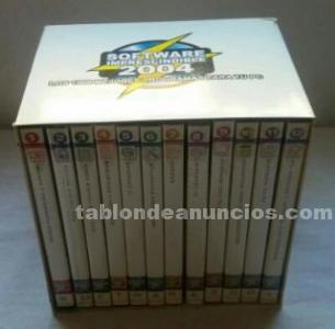 Colección cd-roms software imprescindible 2004