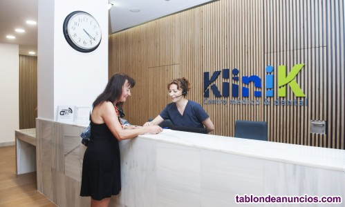 Alquiler de salas en centro médico