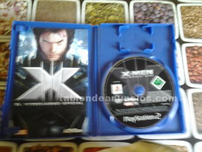 Vendo x-men el video juego oficial para ps2.